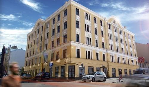 Рига Квартира в центре города, историческое здание, полная реконструкция Недвижимость Рига (Латвия) В динамично развивающемся центре столицы в реконструируемом в настоящее время историческом здании предлагаются к покупке 1- 3-комн
